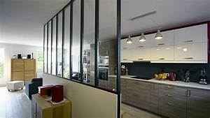 fascinating agencement cuisine ouverte sejour gallery With agencement cuisine ouverte sejour