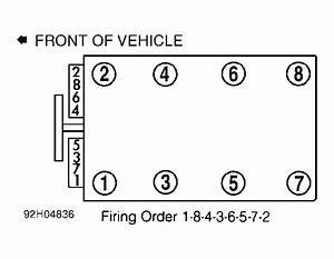 Whats Fireing Order  Car Is A Z28 Model 5 7v8
