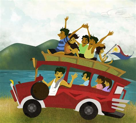 jeep philippines drawing jeepney by christalle09 on deviantart