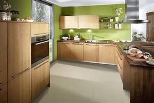 Küche In L Form : naturholz k che in l form aus hellem holz ~ Bigdaddyawards.com Haus und Dekorationen