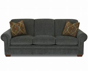 Queen sofa sleeper by klaussner wolf and gardiner wolf for Sectional sofa with recliner and queen sleeper