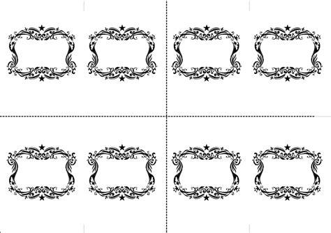 table card template luvecraft x non non wedding table name card template