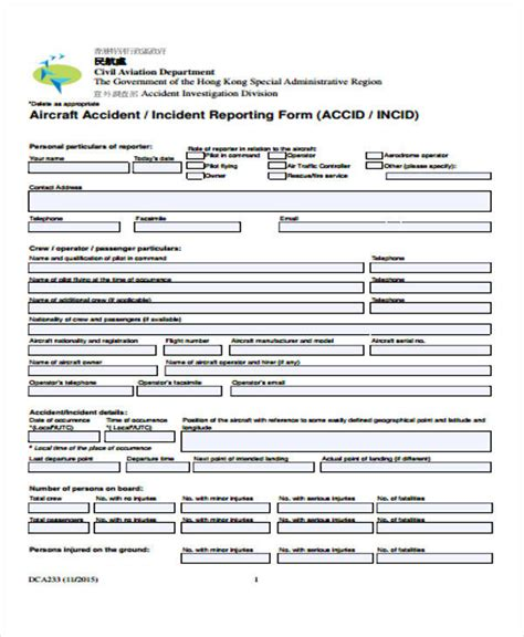 incident report examples docs  pages