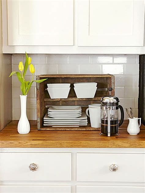 wooden crates  kitchen  brilliant idea  add extra