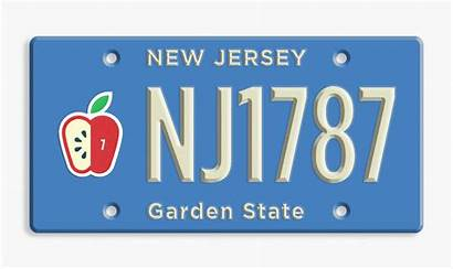 Plates License Jersey States Designers State Sizemore