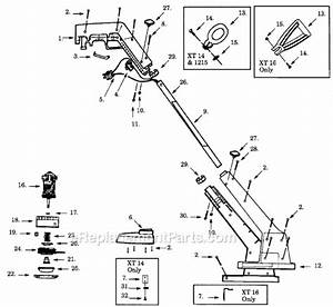 Weed Eater Xt14 Parts List And Diagram   Ereplacementparts Com