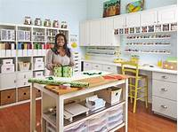 craft room organization ideas Craft and Sewing Room Storage and Organization | HGTV