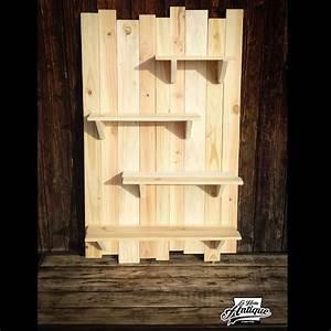 Dressing En Palette : etag re murale bois de palette meubles et rangements par ~ Melissatoandfro.com Idées de Décoration