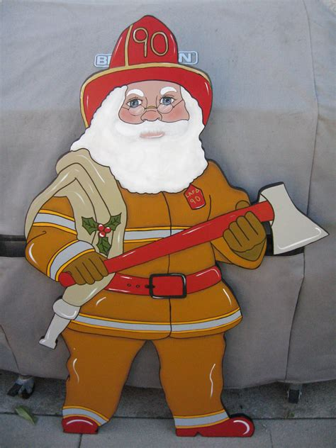 fireman santas