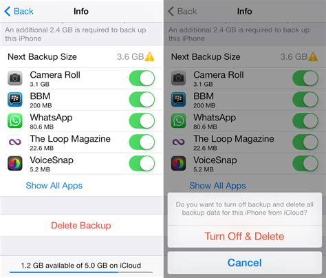how do i backup my iphone to icloud how to delete icloud backups on iphone