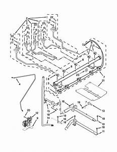 Manifold Parts Diagram  U0026 Parts List For Model Weg730h0ds0
