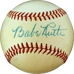 Cecil Travis Autographed American League Baseball