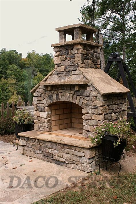 outdoor fireplace kit   fireplace