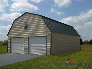 gambrel barn style metal building kit With barn style metal roof