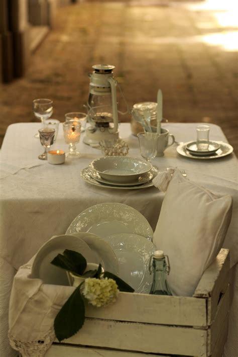 domo tavola les dom 244 cena in bianco idee per una tavola gipsy