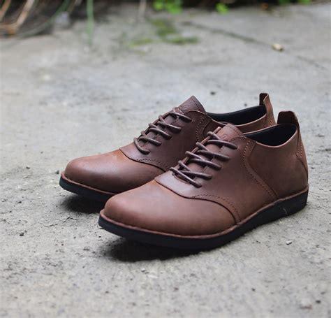 sepatu kulit casual spectre brown mall indonesia