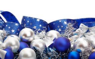 blue white ribbons ornaments white background decorations wallpaper