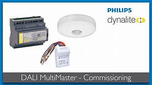 Dali Multimaster - Commissioning