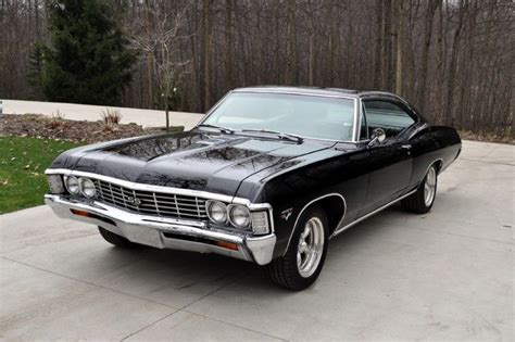 1967 Black Chevy Impala. Introduced To Me Via Supernatural