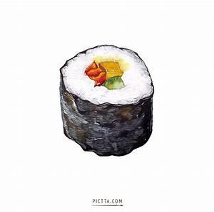 Best 25+ Sushi drawing ideas on Pinterest   Sushi cartoon ...
