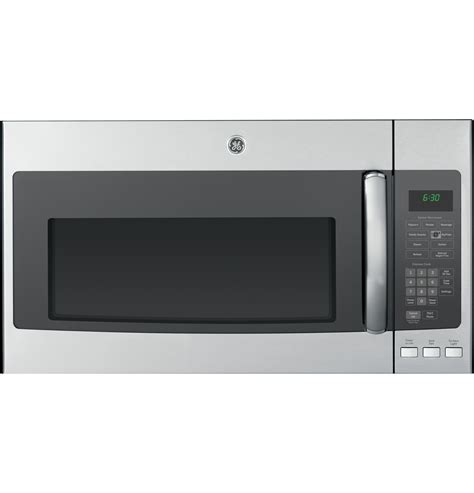 ge microwave with vent fan pvm9195sfss ge pvm9195sfss profile over the range
