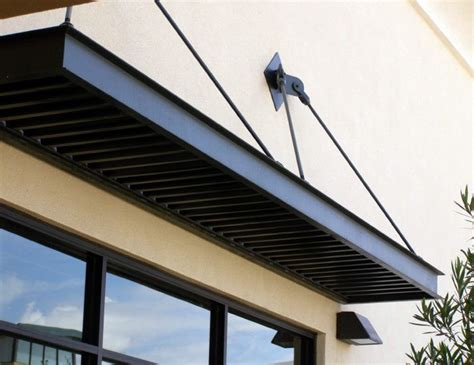 small flat window awning  overhead support canopy outdoor backyard canopy garden canopy