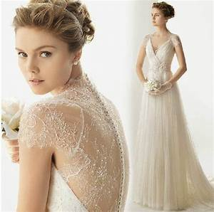 striking collections of vintage lace wedding dresses with With vintage lace wedding dresses with sleeves