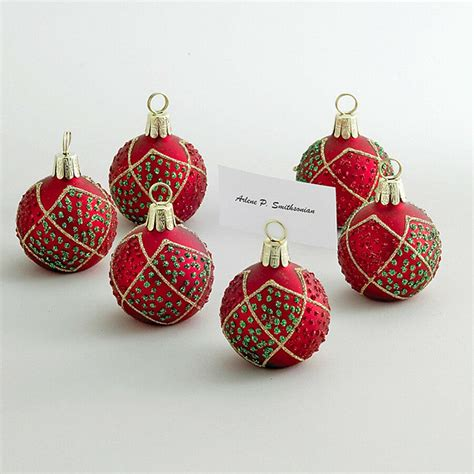 best places to get christmas ornaments decorations ornament place card holder set of 6 placecard ebay
