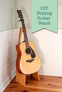 How to Make a Folding Guitar Stand - Pretty Handy Girl