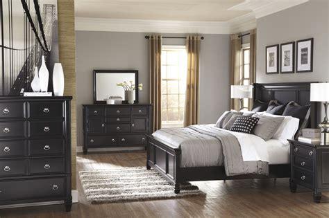 piece casual storage bedroom set  black mathis