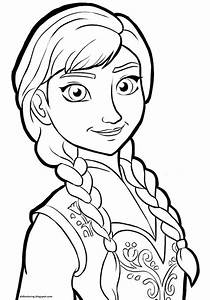 Free printable frozen walt disney characters coloring for ...