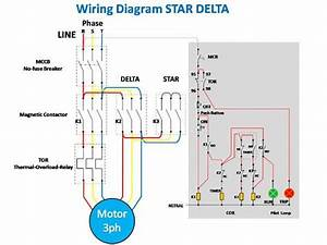 Star Delta Starter Full Wiring Diagram