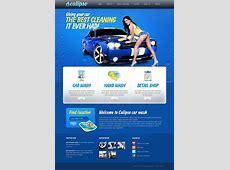 Car Wash Facebook HTML CMS Template #44730