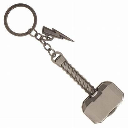 Thor Hammer Mjolnir Lightning Ragnarok Chain Key