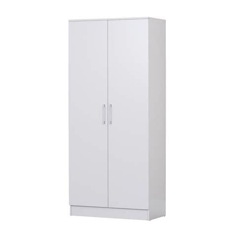 2 Door Laundry Cupboard by 2 Door Broom Cupboard W Adjustable Shelves In White Buy