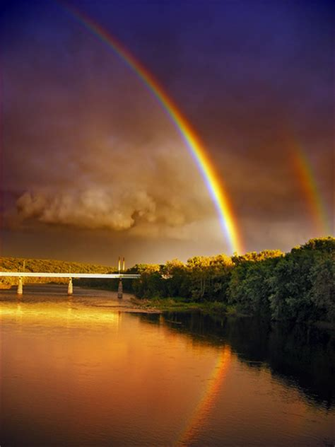double rainbow pictures   images  facebook