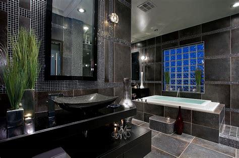 black bathroom tiles ideas 30 amazing ideas and pictures of antique bathroom tiles