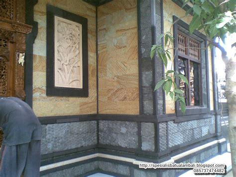 desain rumah minimalis variasi batu alam desain rumah