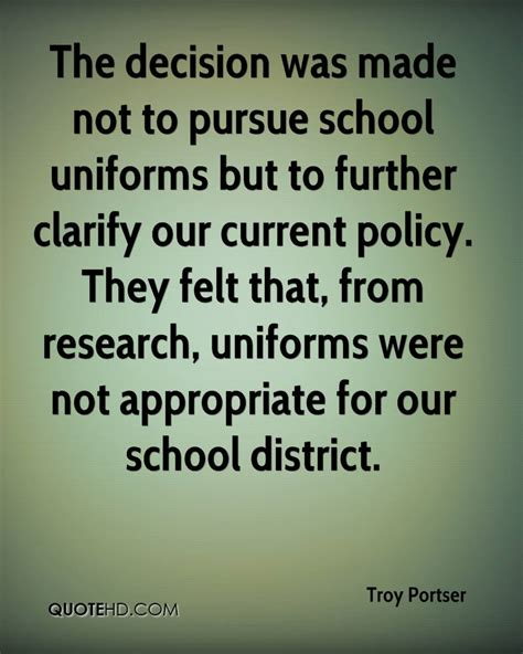 Quotes About Wearing School Uniforms