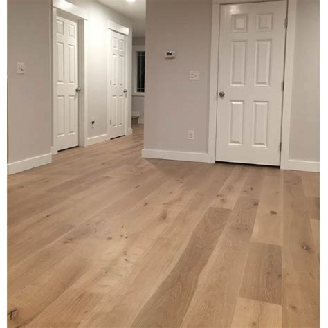 Prefinished White Oak Flooring by White Oak European Sawn Evelien Engineered Brushed Rustic 6237