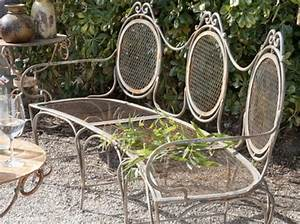 Banc De Jardin Fer Forgé : petit guide du mobilier de jardin ~ Dailycaller-alerts.com Idées de Décoration