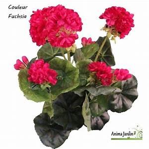 Pot De Fleur Artificielle : pot de g raniums artificiels fleur artificielle d co jardin pas cher ~ Teatrodelosmanantiales.com Idées de Décoration