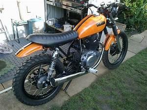 Daily Referendum  My 1980 Yamaha Sr250 Build  Nearly Finished