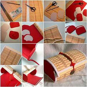 How To Make Bamboo Placemat Box Step By Step Diy