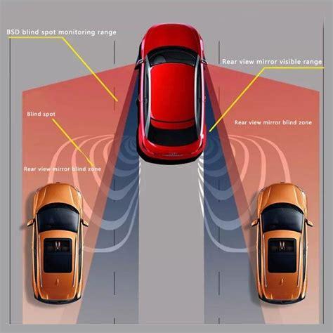 car blind spot monitoring bsd bsa bsm radar detection system microwave sensor assistant