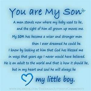 17 best Son Quotes on Pinterest Mom son quotes, Mother