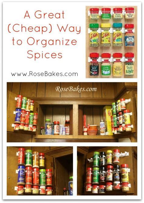 Cheap Spice Racks by Wfmw The Best Way To Organize Spices Bakes