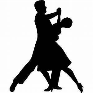 Dance Silhouette / Wall Art - Ballroom Dance Couple