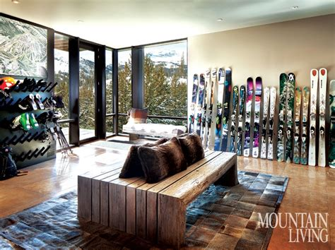 4 Ski Rooms For Slope-lovers