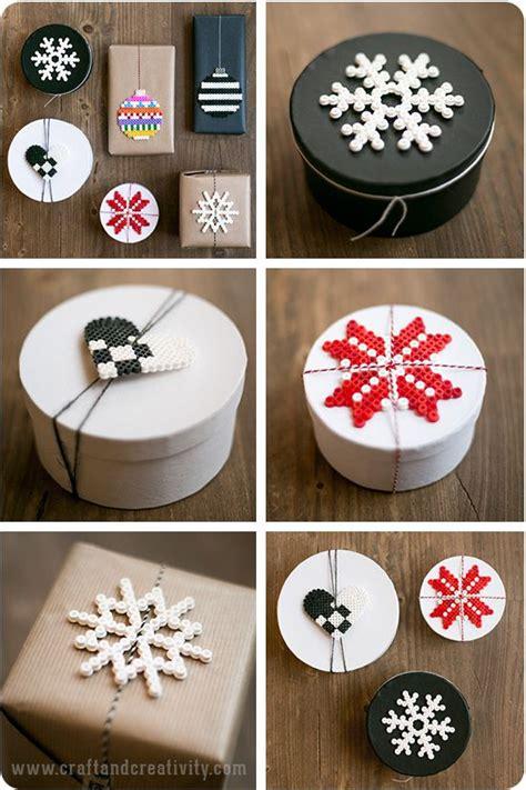 Perler Bead Christmas Crafts